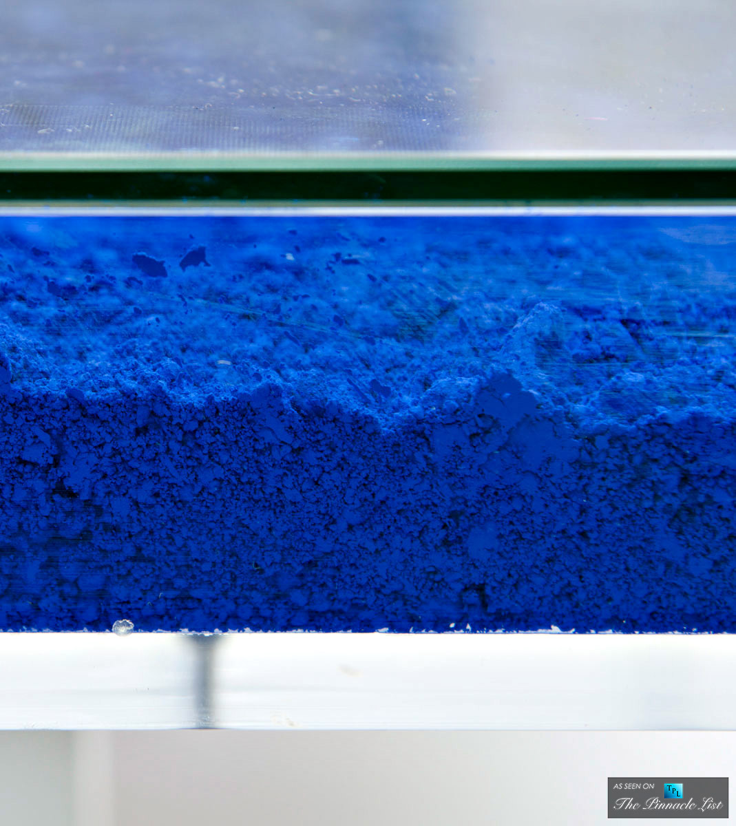 Contemporary Art as Modern Luxury Furniture - Spotlighting the Yves Klein Table of 1963