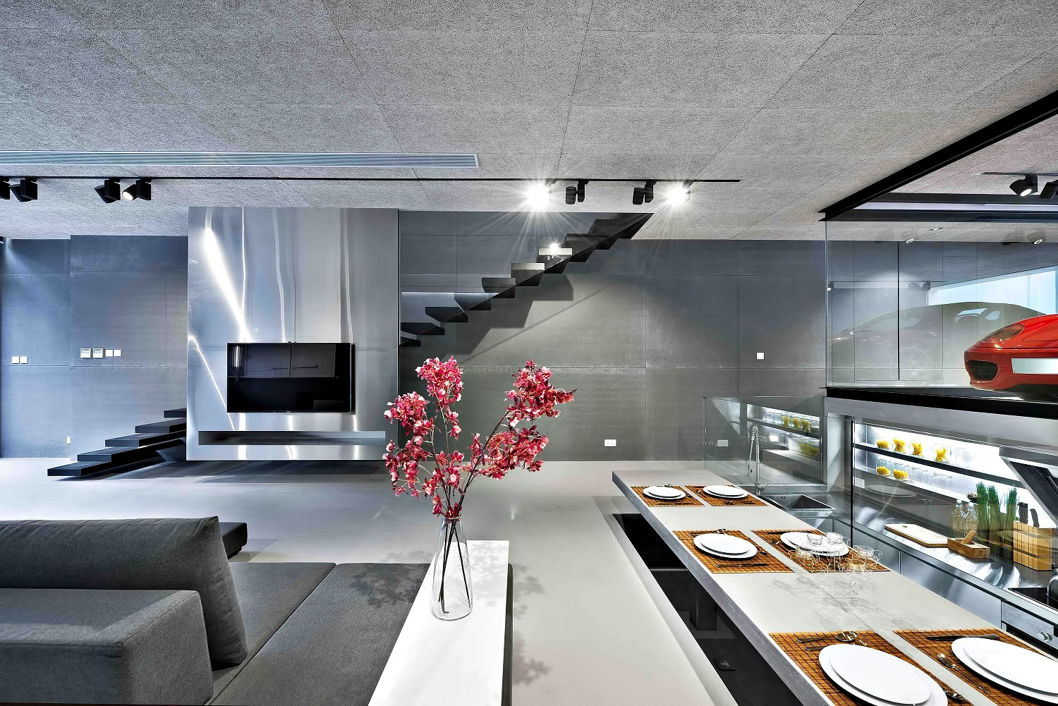 Sai Kung Luxury Residence - New Territories, Hong Kong, China