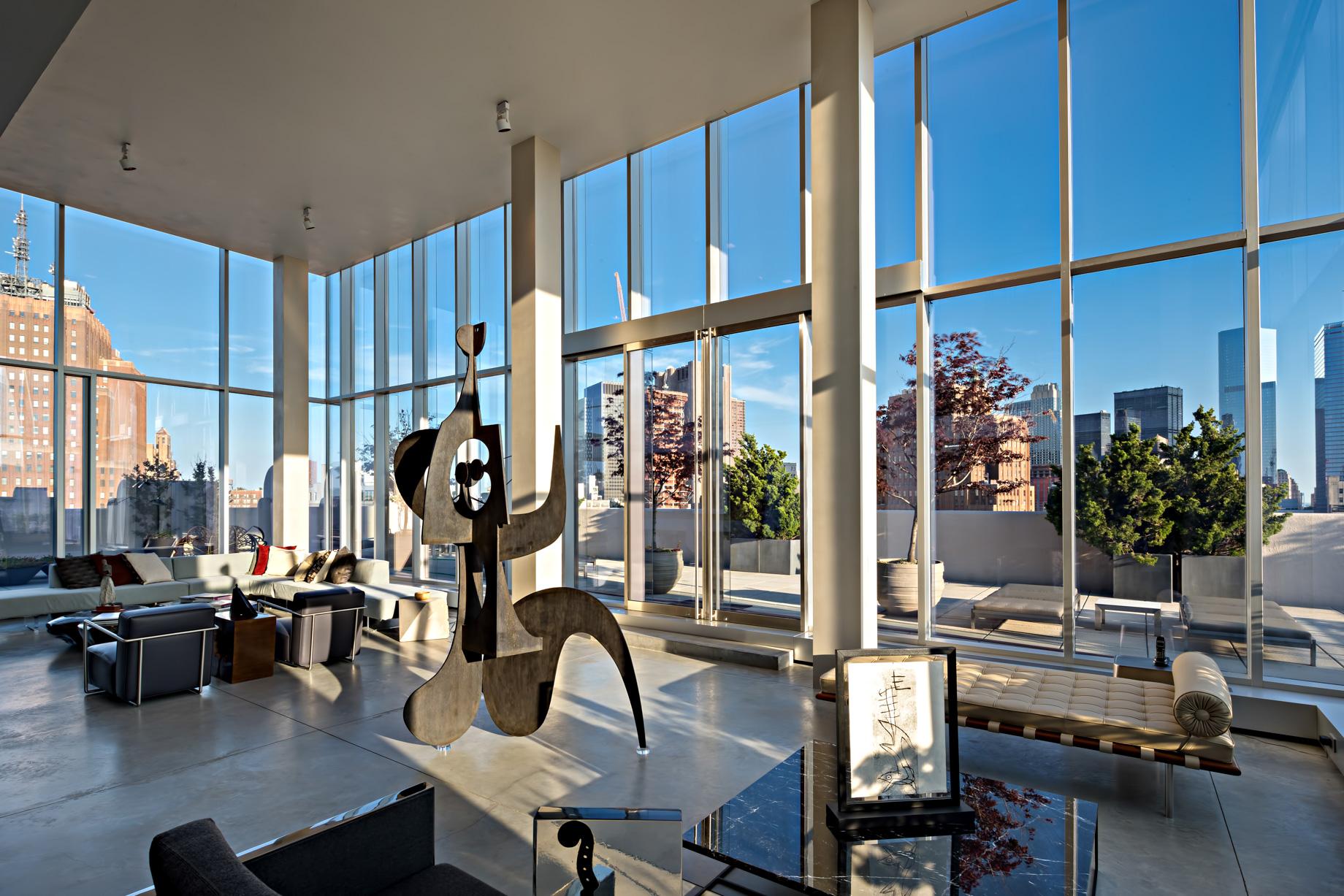 Sky Lofts Glasshouse Penthouse - New York, NY, USA