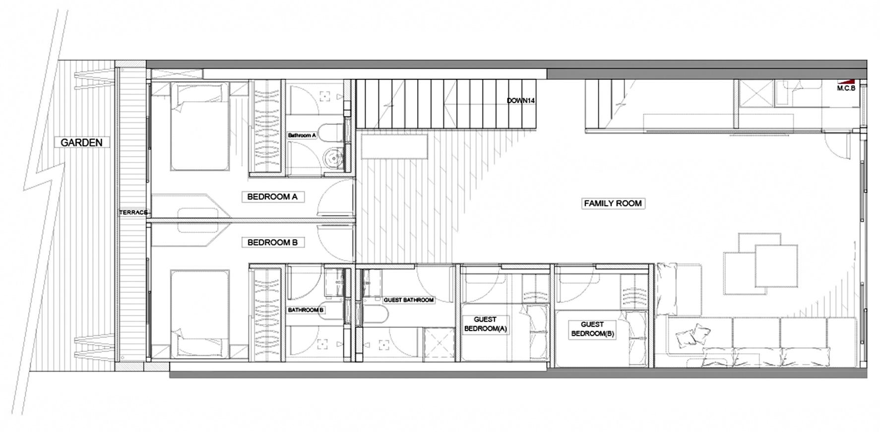 Floor Plans - Sai Kung Luxury Residence - New Territories, Hong Kong, China