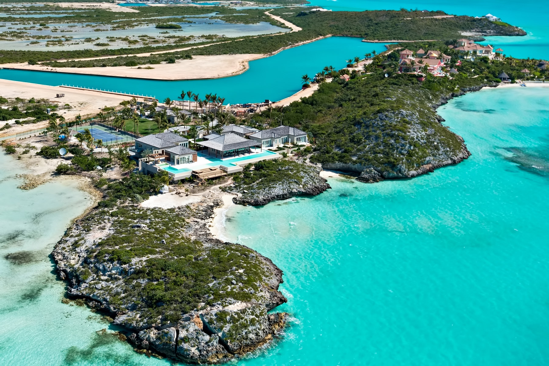 Turtle Tail Luxury Estate Villa - Providenciales, Turks and Caicos Islands