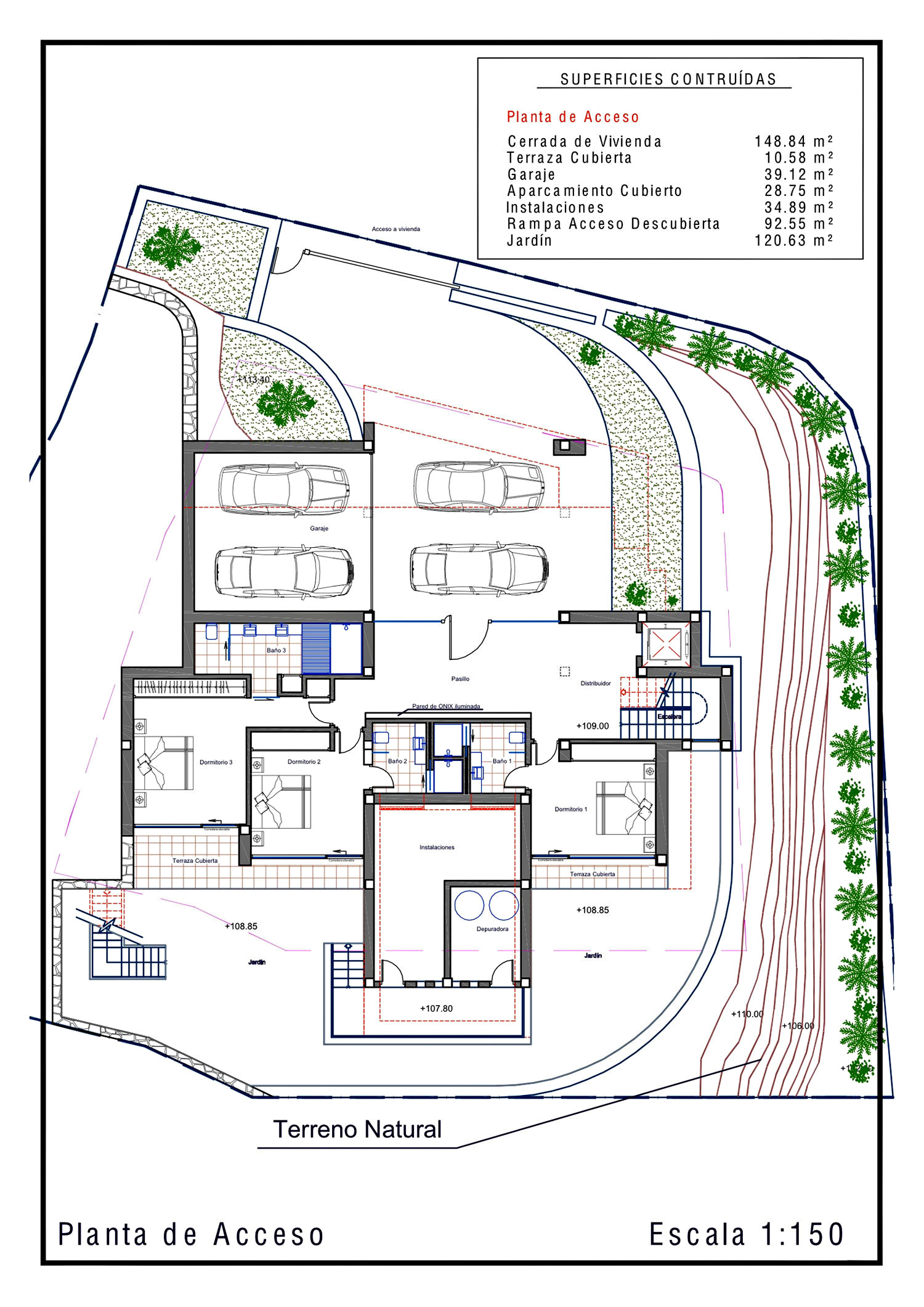 Floor Plans - La Perla Del Mediterraneo Luxury Residence - Calp, Alicante, Spain