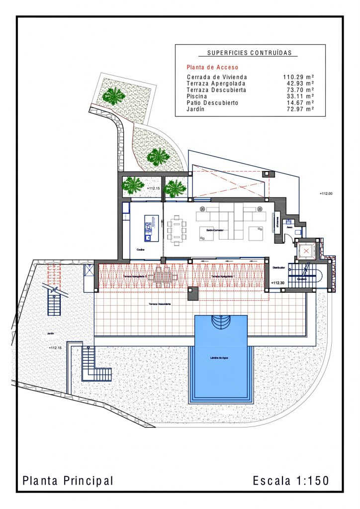 Floor Plans - La Perla Del Mediterraneo Luxury Residence - Calp, Alicante, Spain