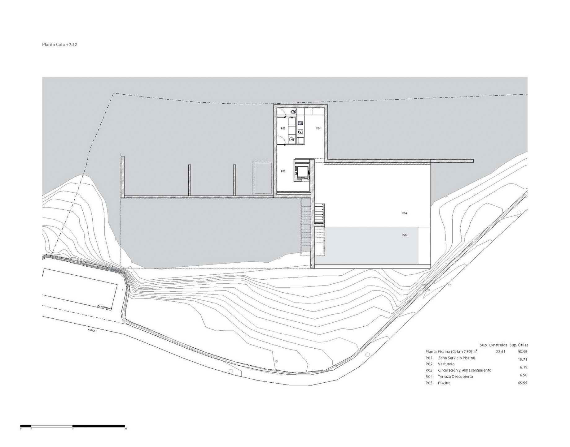 Floor Plans - Casa del Acantilado Luxury Residence - Calp, Alicante, Spain
