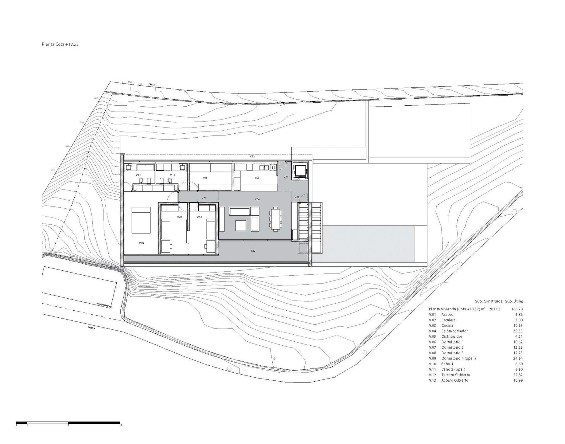 Floor Plans - Casa del Acantilado Luxury Residence - Calp, Alicante, Spain