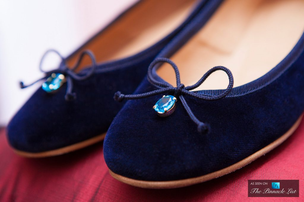 Luxury at Your Feet - Josefinas Blue Persian Salt are the Most Expensive Ballet Flats in the World