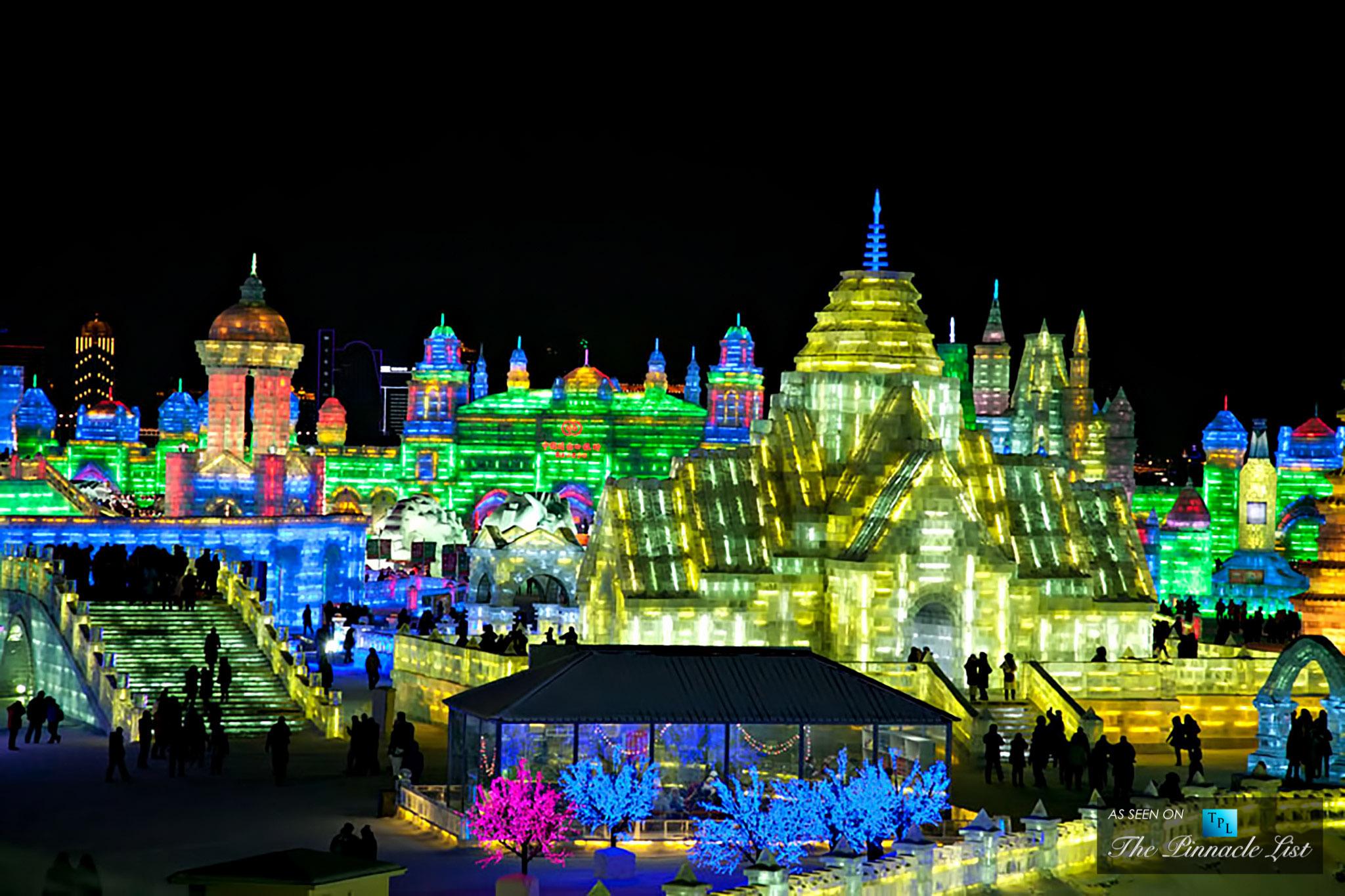 Harbin International Snow and Ice Festival - An Illuminated Awe-Inspiring Winter Wonderland in China