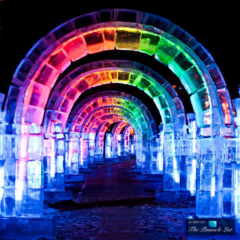 Harbin International Snow and Ice Festival - An Illuminated Awe-Inspiring Winter Wonderland in China