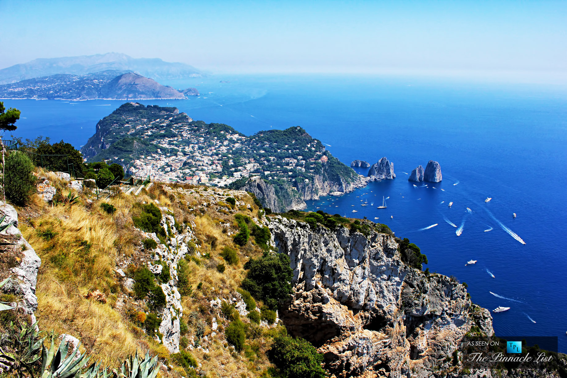 A Luxury Yacht Charter Guide to the Gulf of Naples and the Amalfi Coast