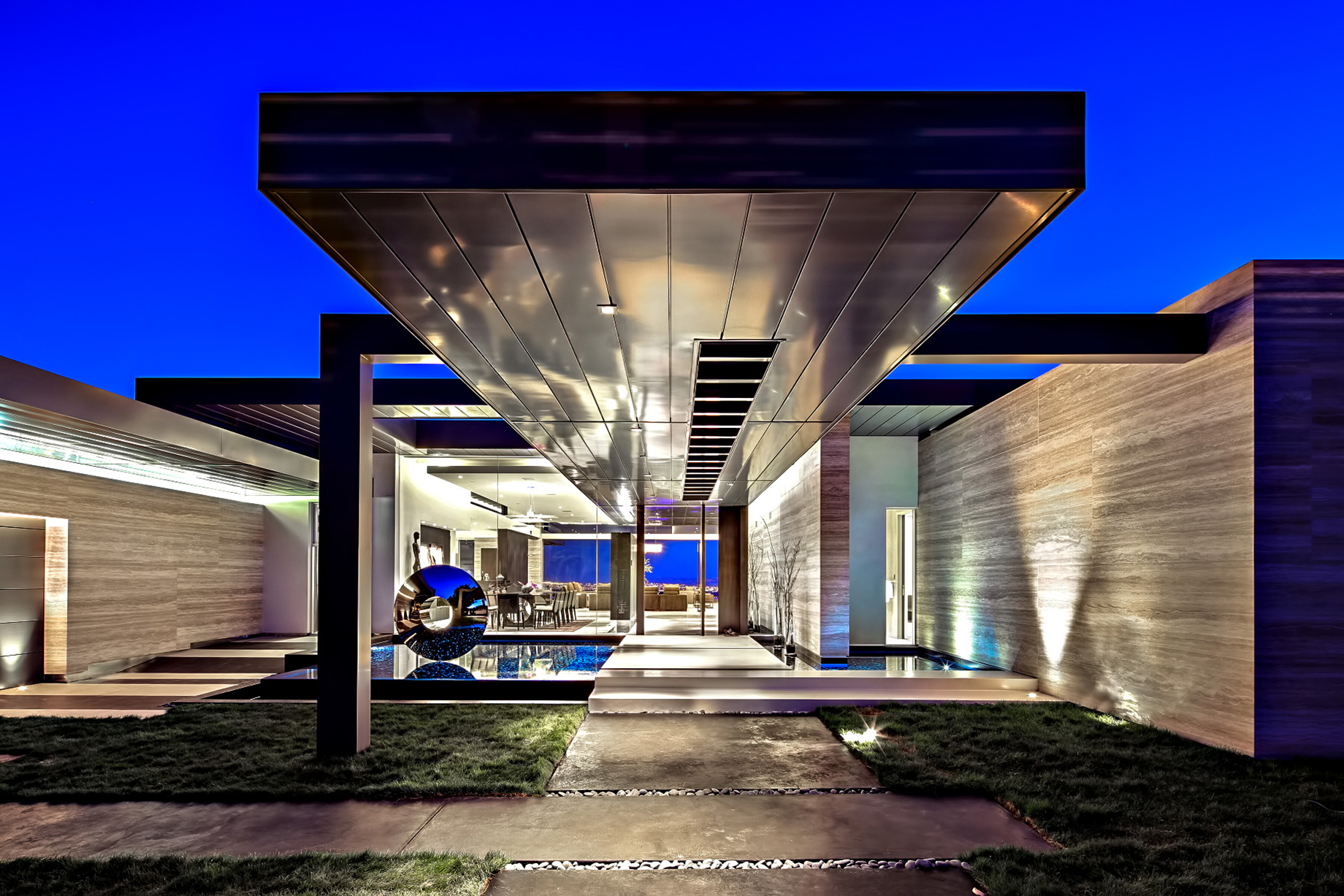Contemporary Trousdale Estate - 1870 Carla Ridge, Beverly Hills, CA, USA
