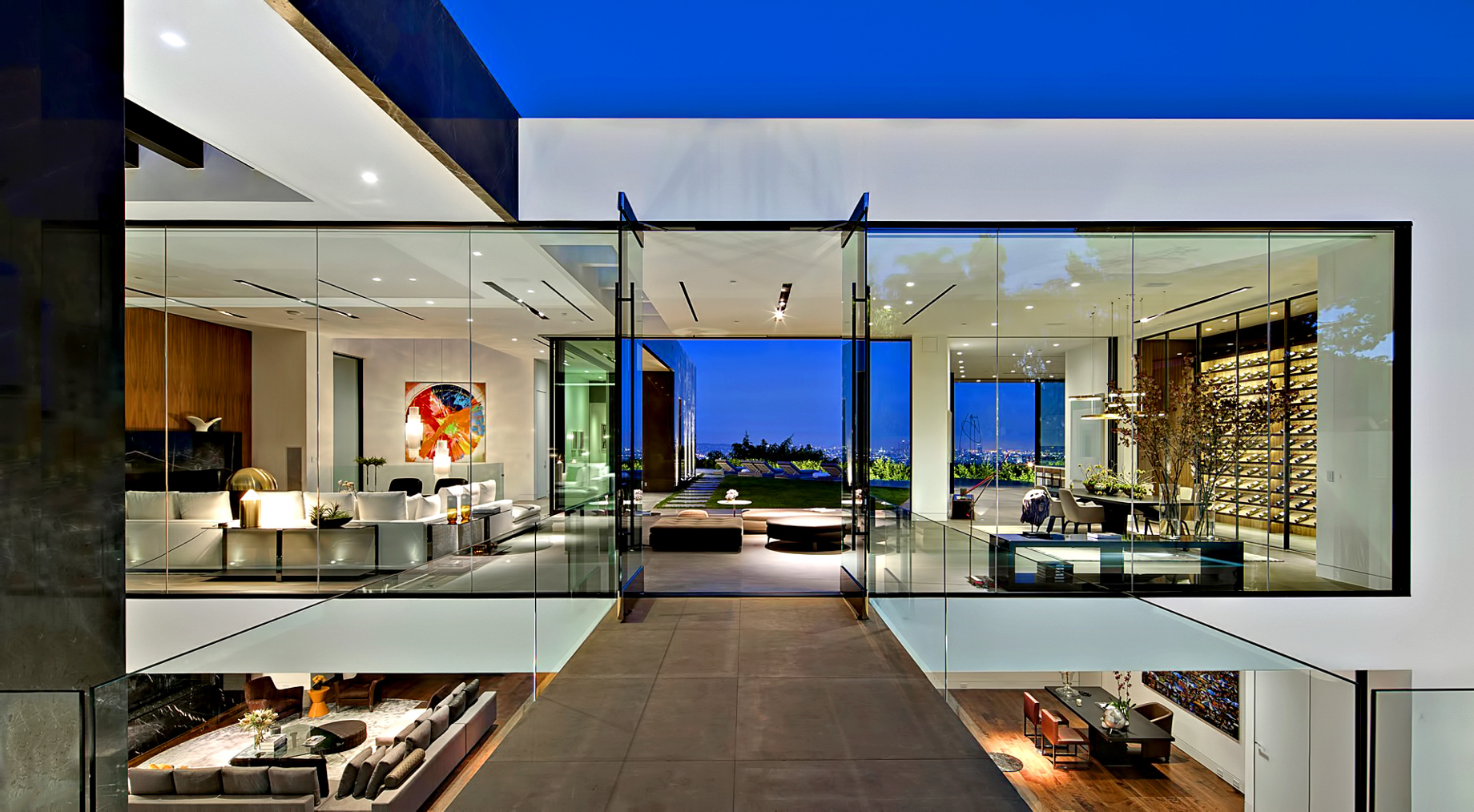Modern Architecture Los Angeles trophy modern luxury residence – 1442 tanager way, los