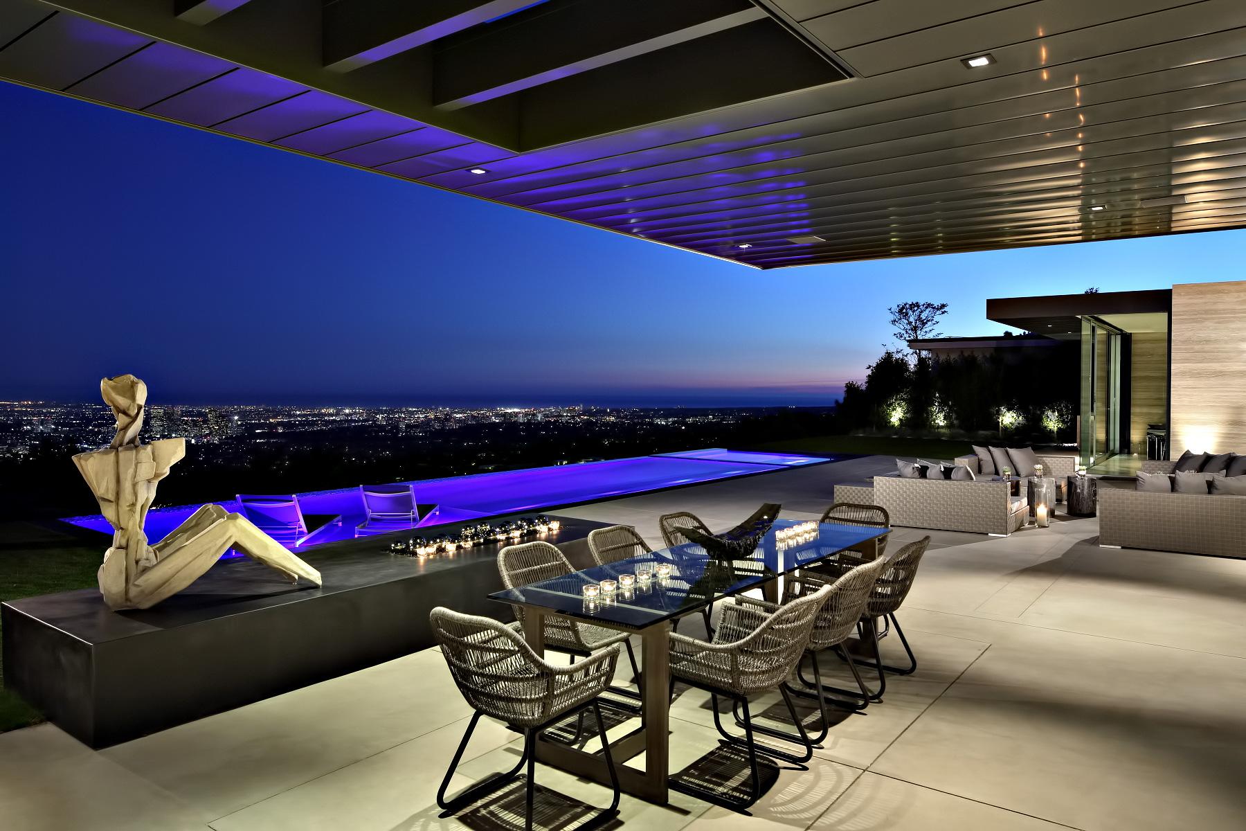 Contemporary Trousdale Estate – 1870 Carla Ridge, Beverly Hills, CA, USA