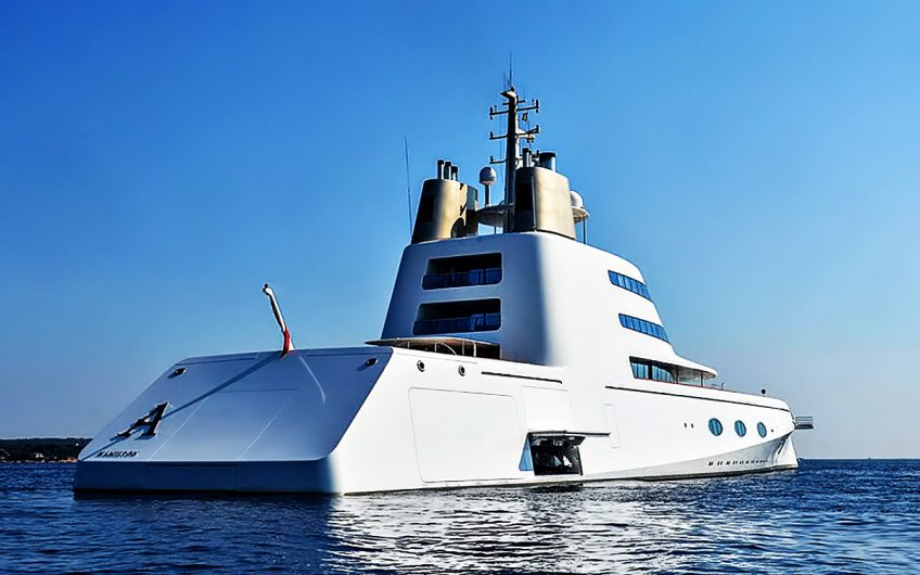 Superyacht A – Porto Cervo, Sardinia, Italy