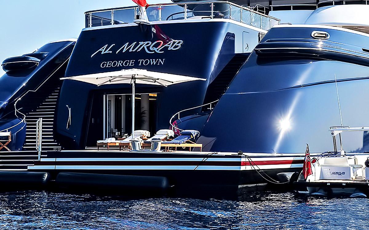 Al Mirqab Superyacht - Porto Cervo, Sardinia, Italy