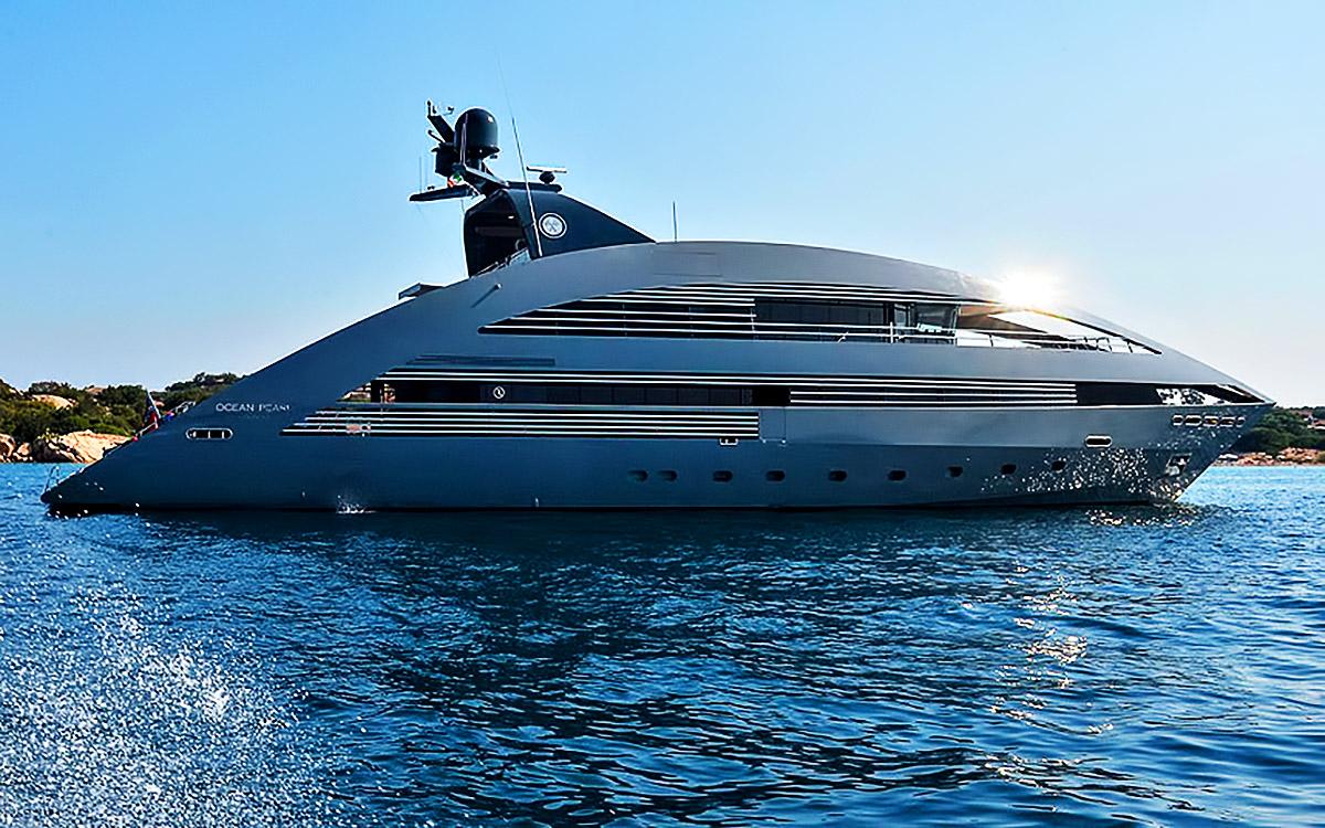 Ocean pearl superyacht porto cervo sardinia italy the pinnacle