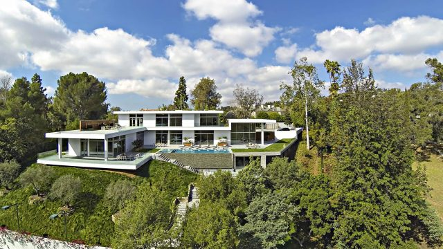 Holmby Hills Contemporary Villa - 438 N Faring Rd, Los Angeles, CA, USA