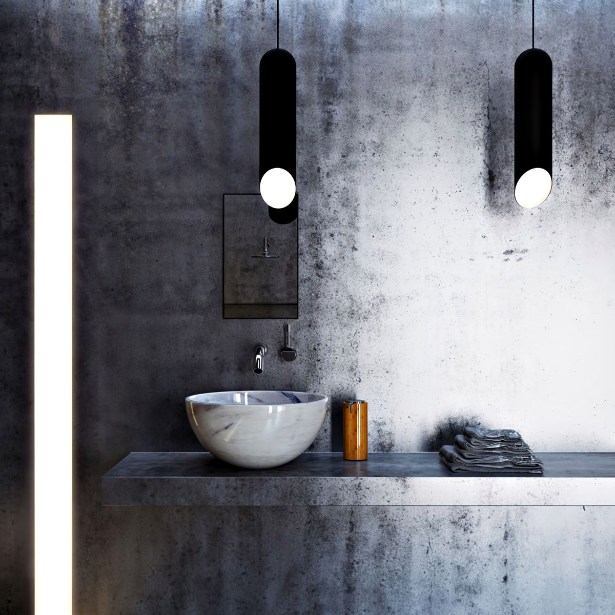 bathroom – ex machina film inspires architecture for a writer's