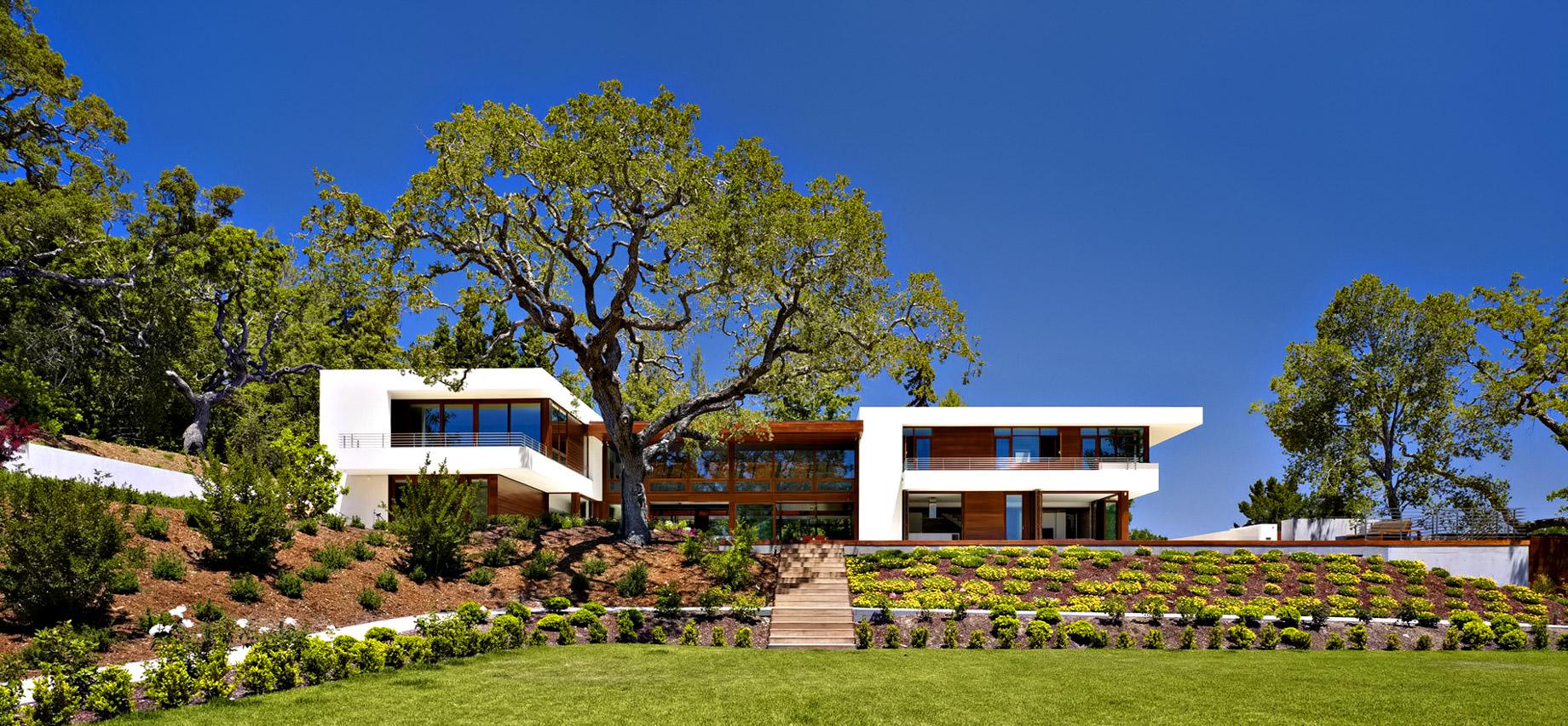 Modern Luxury OZ Residence - 92 Sutherland Drive, Atherton, CA, USA