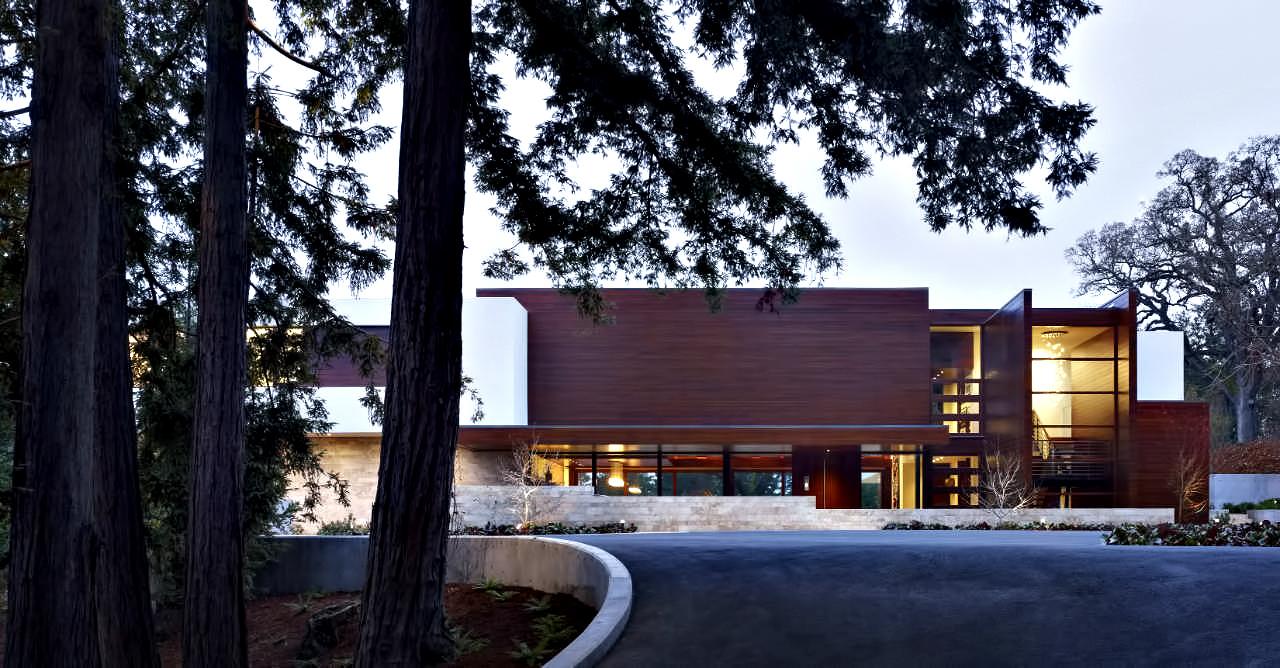 Modern Luxury OZ Residence – 92 Sutherland Drive, Atherton, CA, USA