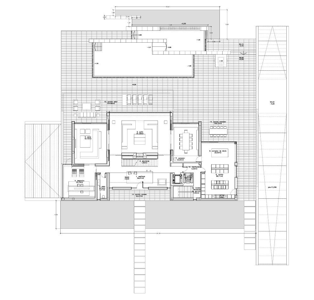 Floor Plans – Vivienda 19 Luxury Residence – Pozuelo de Alarcón, Madrid, Spain