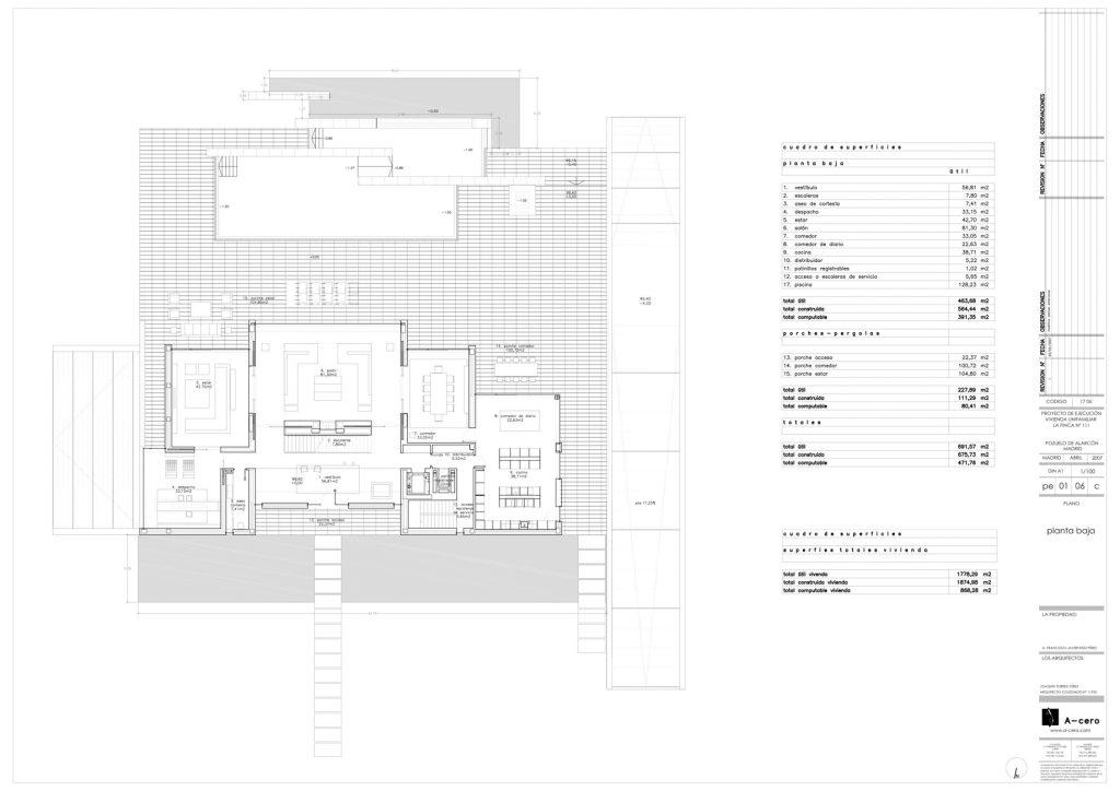 Floor Plans - Vivienda 19 Luxury Residence - Pozuelo de Alarcón, Madrid, Spain