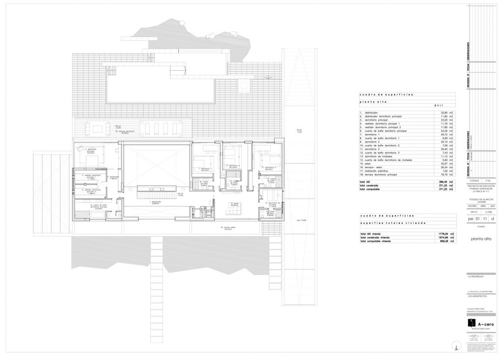 Floor Plans - Vivienda 19 Luxury Residence - Pozuelo de Alarcón, Madrid, Spain