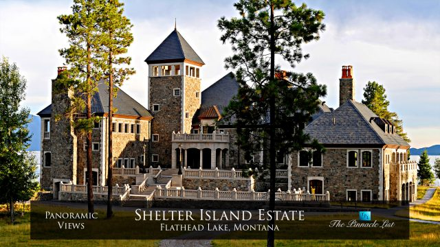 Shelter Island Estate - Flathead Lake, Montana - Panoramic Views - Luxury Real Estate