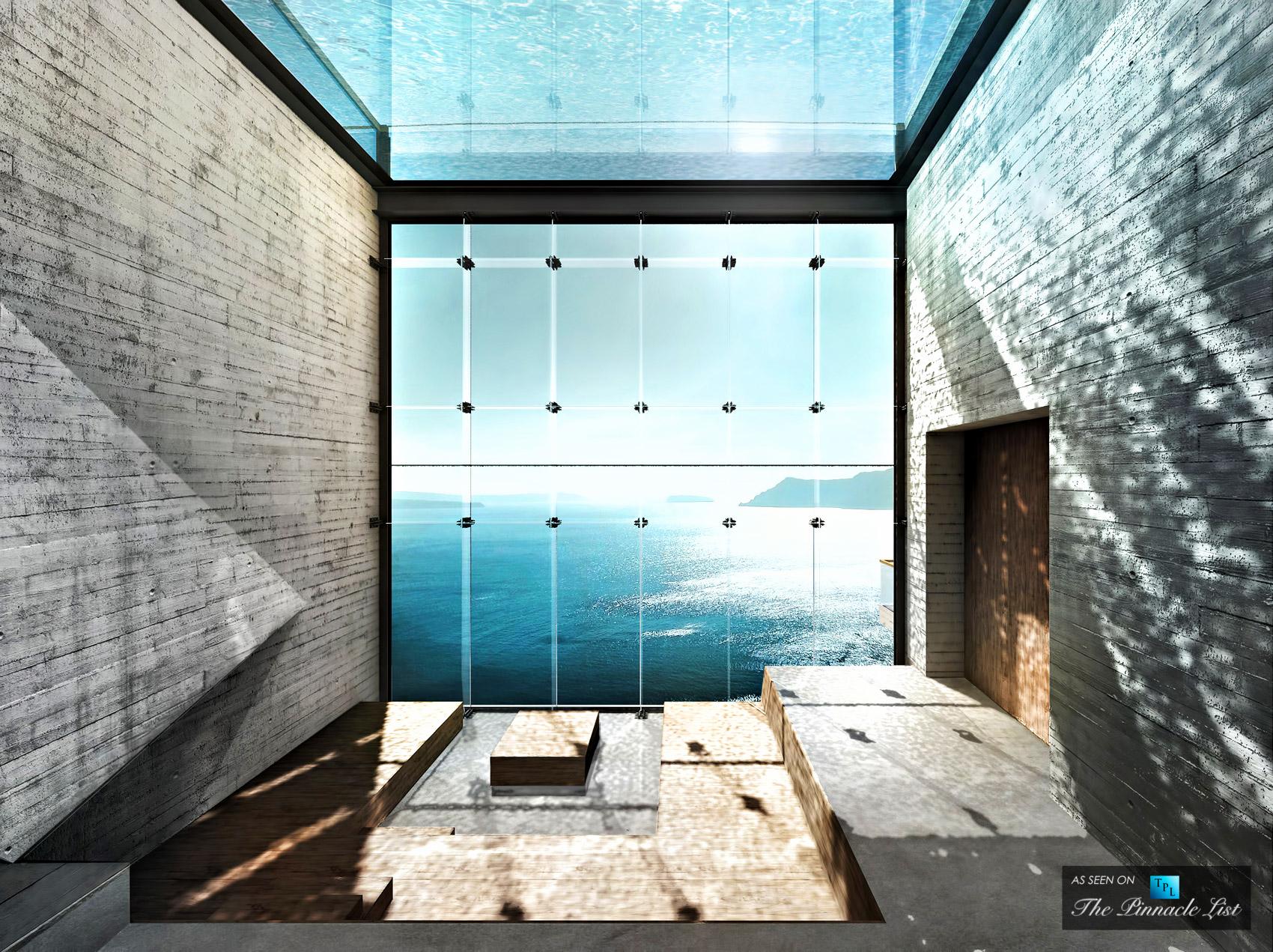 Imagine Living Inside a Cliff – Luxury Home Wedged Cliffside, Sunken Clifftop