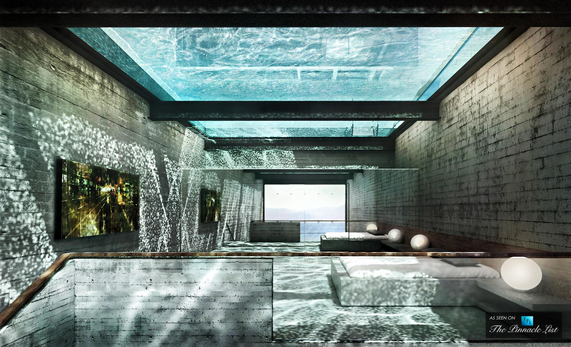 Imagine Living Inside a Cliff - Luxury Home Wedged Cliffside, Sunken Clifftop