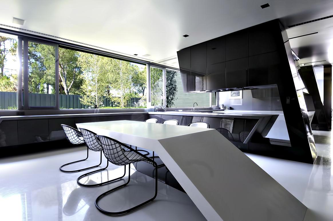 Monolithic Concrete House II – Pozuelo de Alarcón, Madrid, Spain
