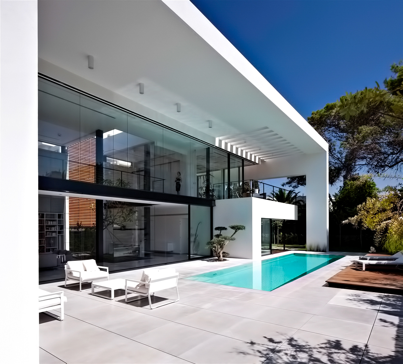Contemporary Bauhaus Luxury Residence - French Carmel, Haifa, Israel