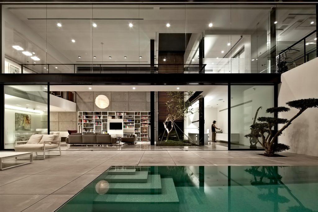 Contemporary Bauhaus Luxury Residence - French Carmel, Haifa, Israel