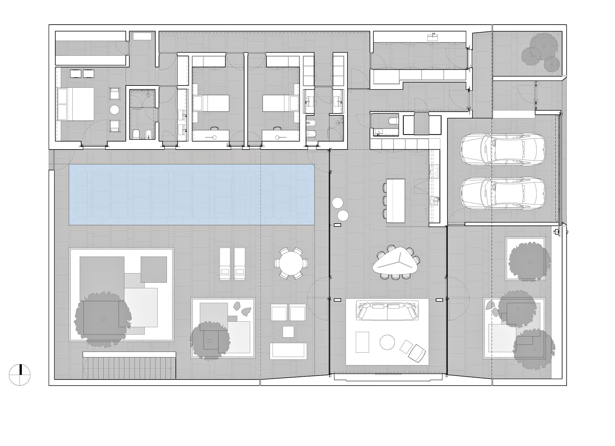 Floor Plans - Jesolo Lido Luxury Pool Villa - Lido di Jesolo, Venice, Italy