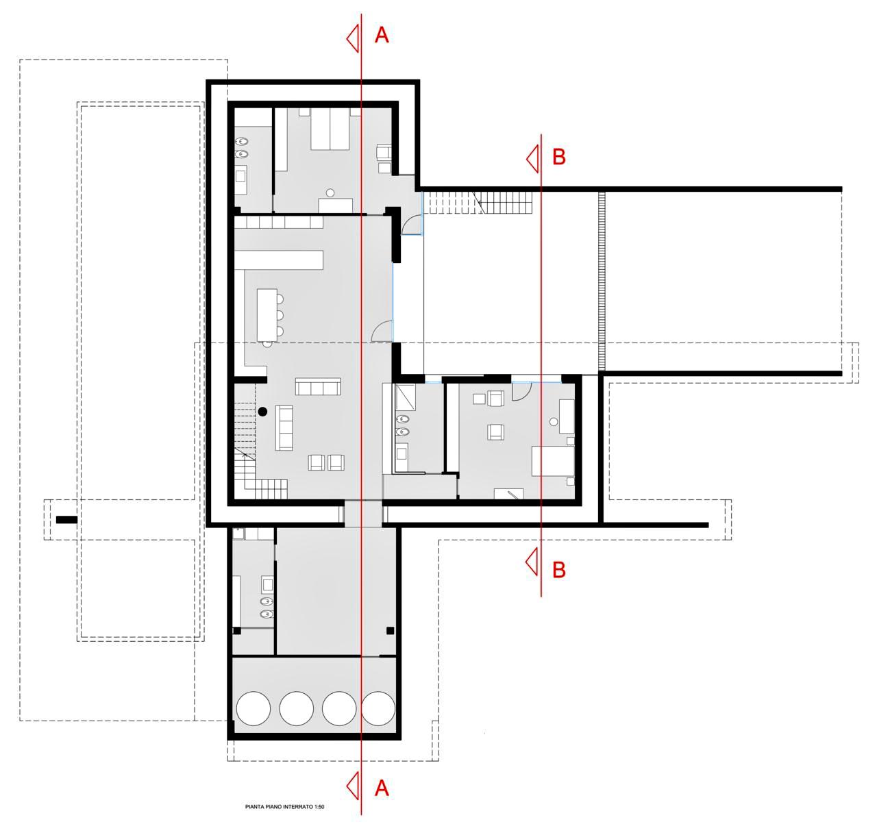 Floor Plans - Villa T Luxury Residence - Ragusa, Sicily, Italy
