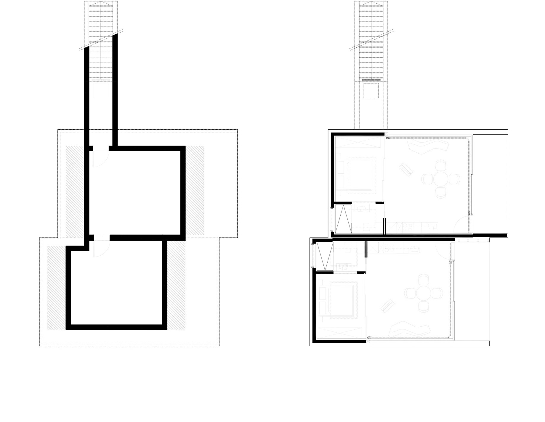 Floor Plans – Mirror Houses Luxury Residence – Bolzano, South Tyrol, Italy