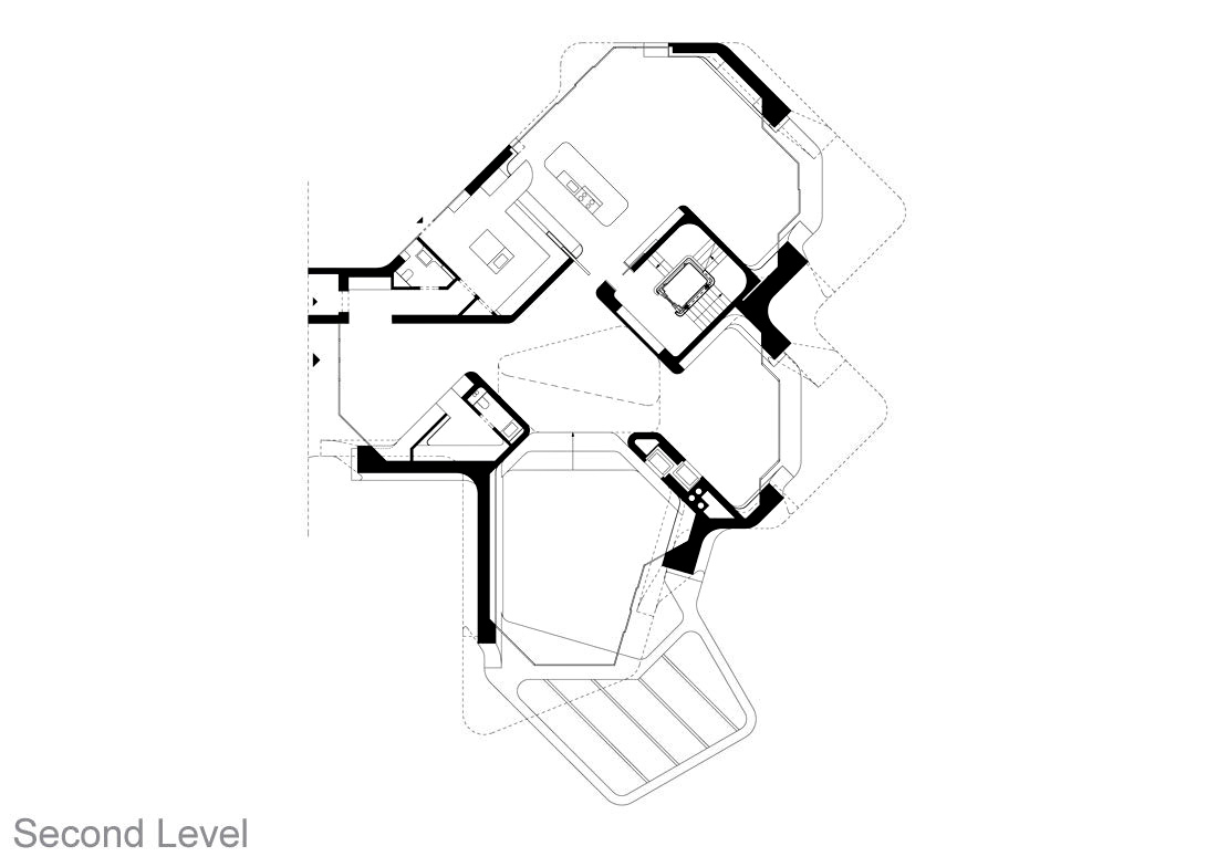 Second Level Floor Plan – Dupli Casa Luxury Residence – Ludwigsburg, Stuttgart, Germany