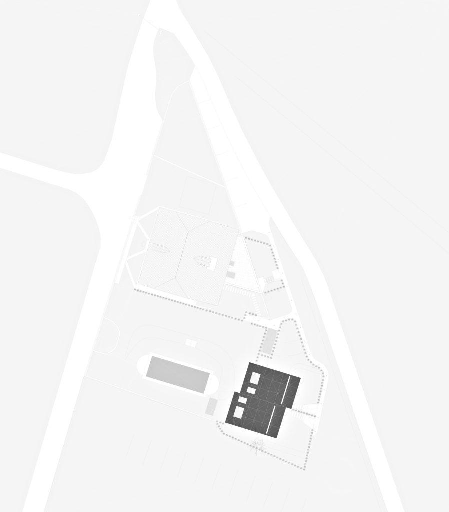 Site Plan - Mirror Houses Luxury Residence - Bolzano, South Tyrol, Italy