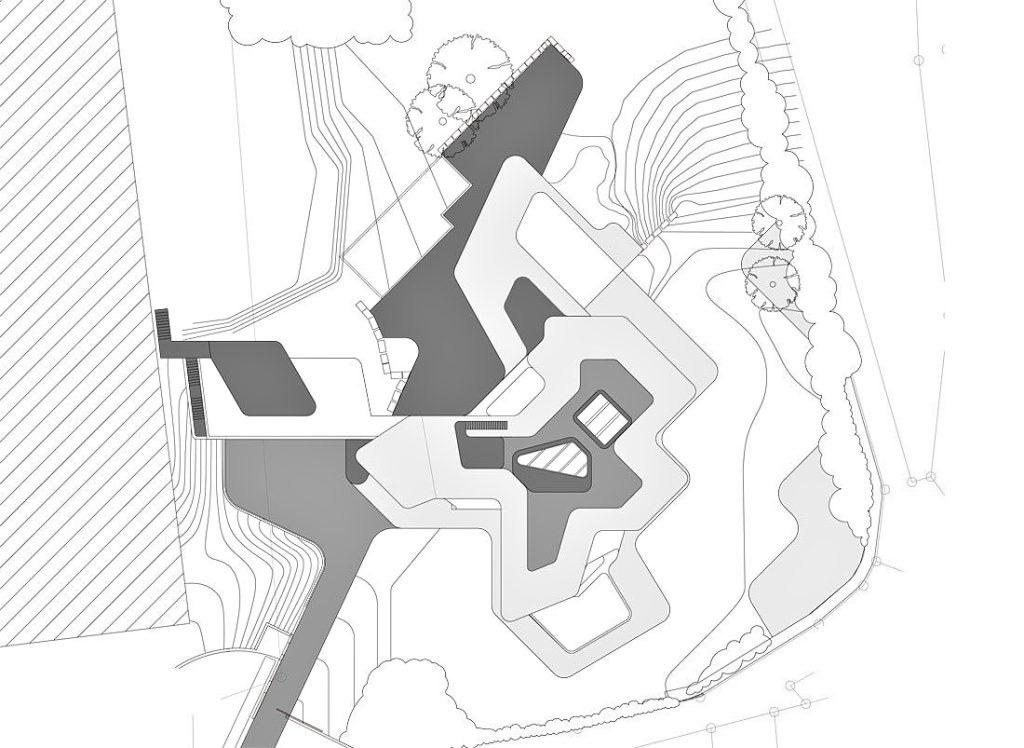 Site Plan - Dupli Casa Luxury Residence - Ludwigsburg, Stuttgart, Germany