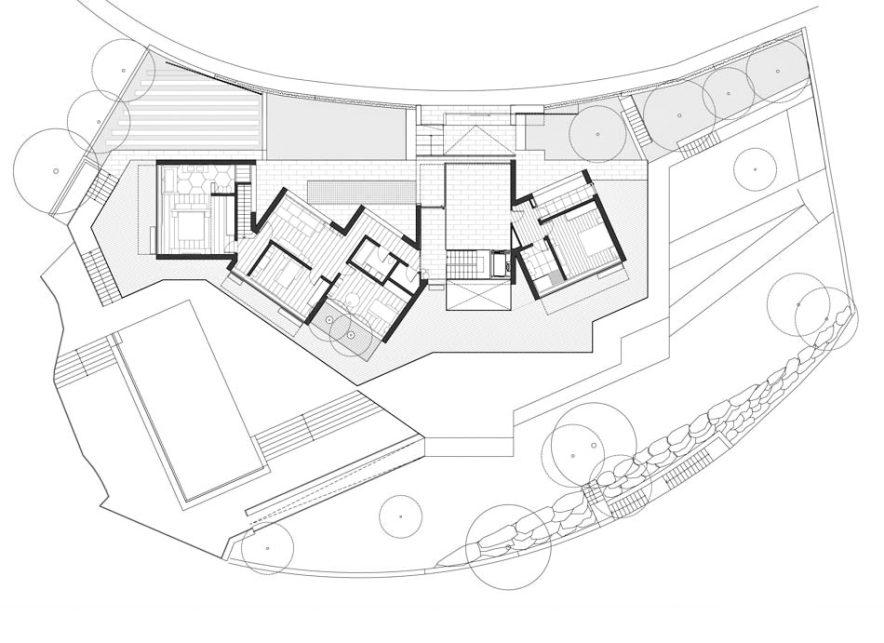 Floor Plans - Traverti Villa Luxury Residence - Tossa de Mar, Girona, Spain