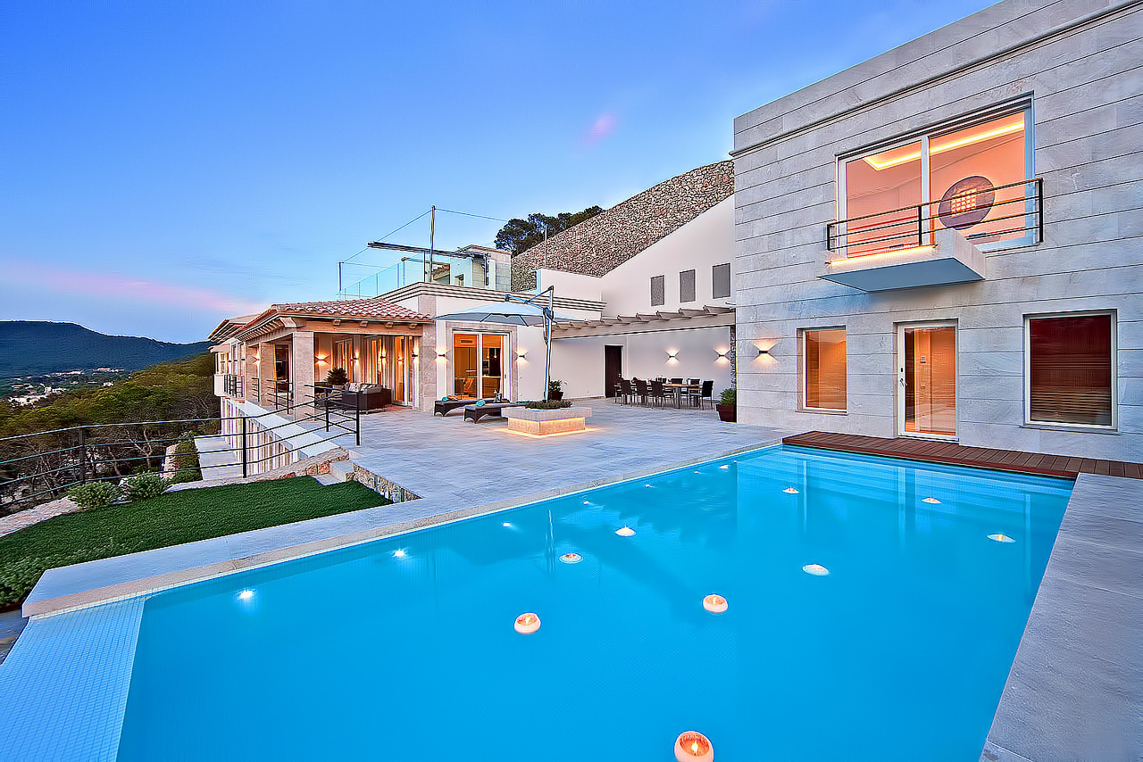 Bella Vista Luxury Villa - Port d'Andratx, Mallorca, Spain