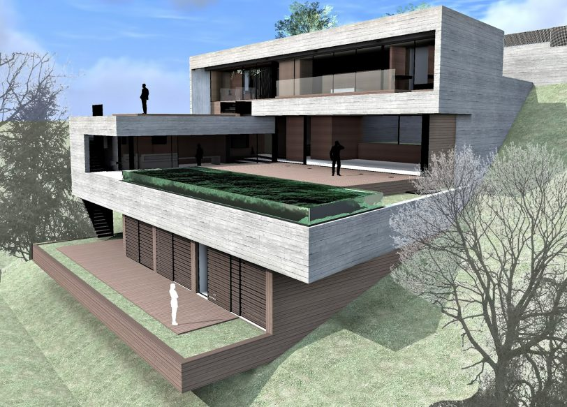 Render - Villa Boscana Luxury Residence - Son Vida, Mallorca, Spain