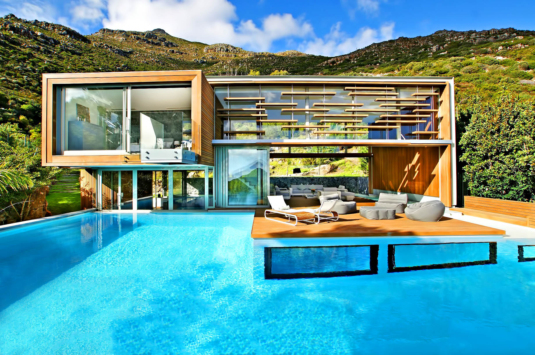 Spa House Luxury Villa Hout Bay Cape