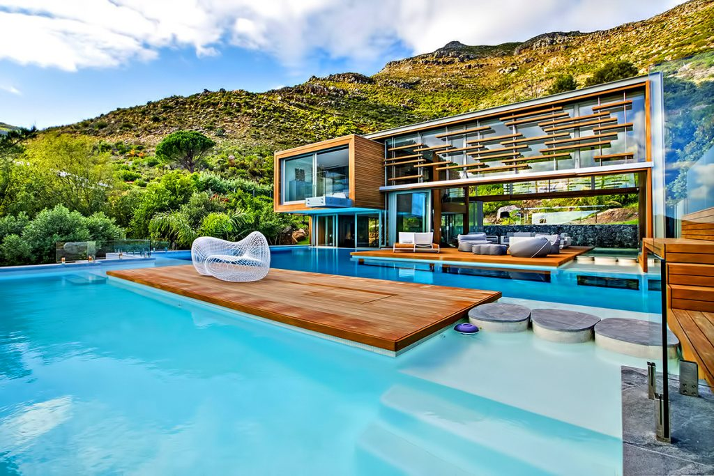 Site Plan - Spa House Luxury Villa - Hout Bay, Cape Town, South Africa