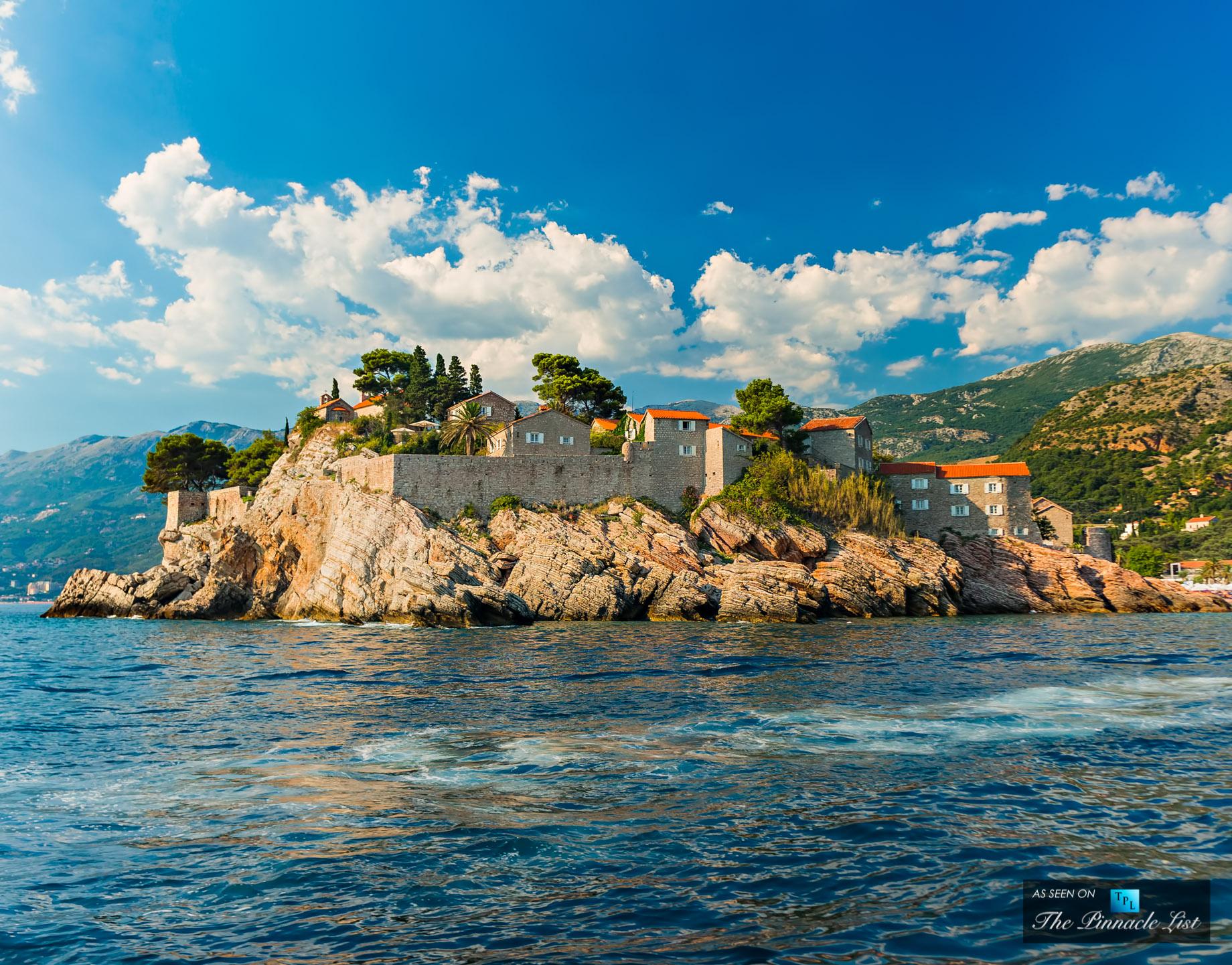 Montenegro Sveti Stefan - Top 5 Secret Luxury Locations in Eastern Europe