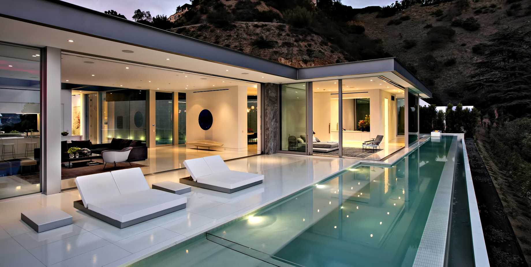 Hollywood Hills Modern - 1814 N Doheny Dr, Los Angeles, CA, USA