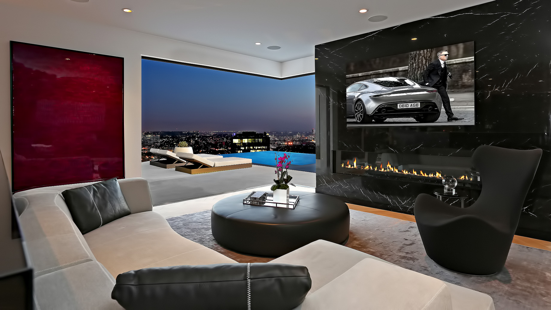 Hollywood Hills Home – 8931 St. Ives Drive, Los Angeles, CA, USA