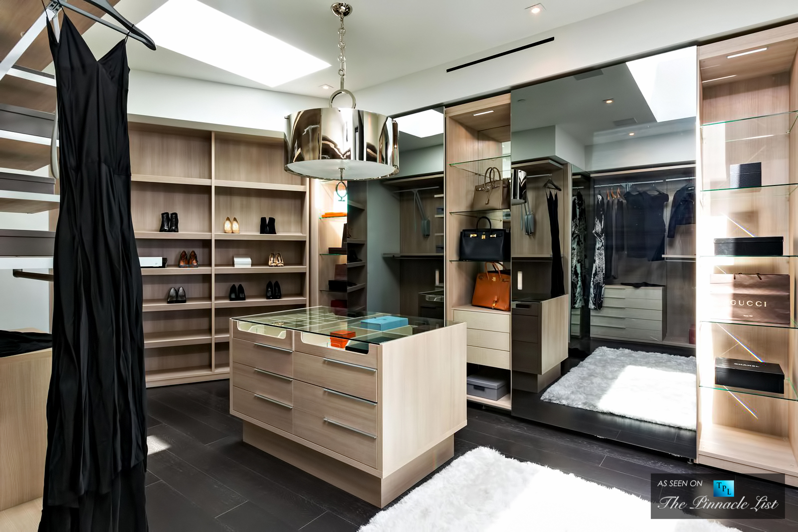 A Closet Brimming with Designer Goods is Essentially a Trophy Room - 864 Stradella Road, Los Angeles, CA