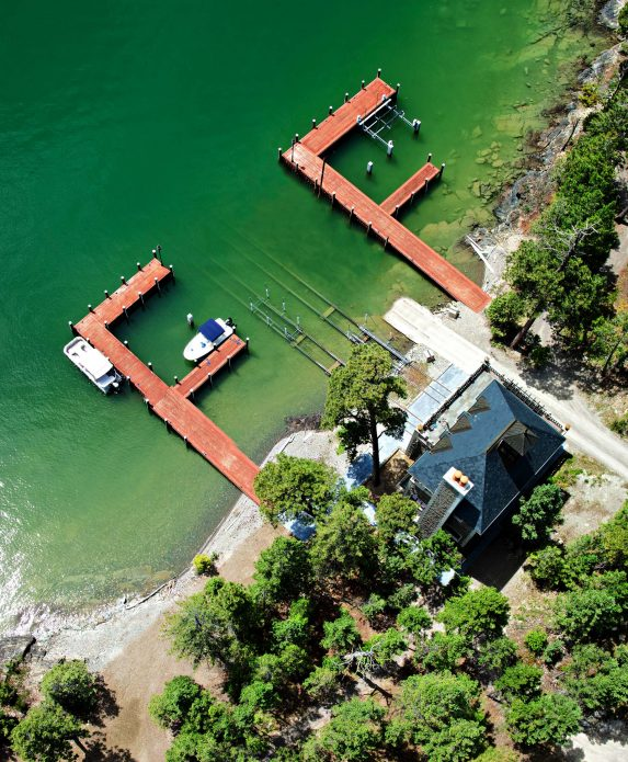 Shelter Island Private Estate - Flathead Lake, Rollins, MT, USA