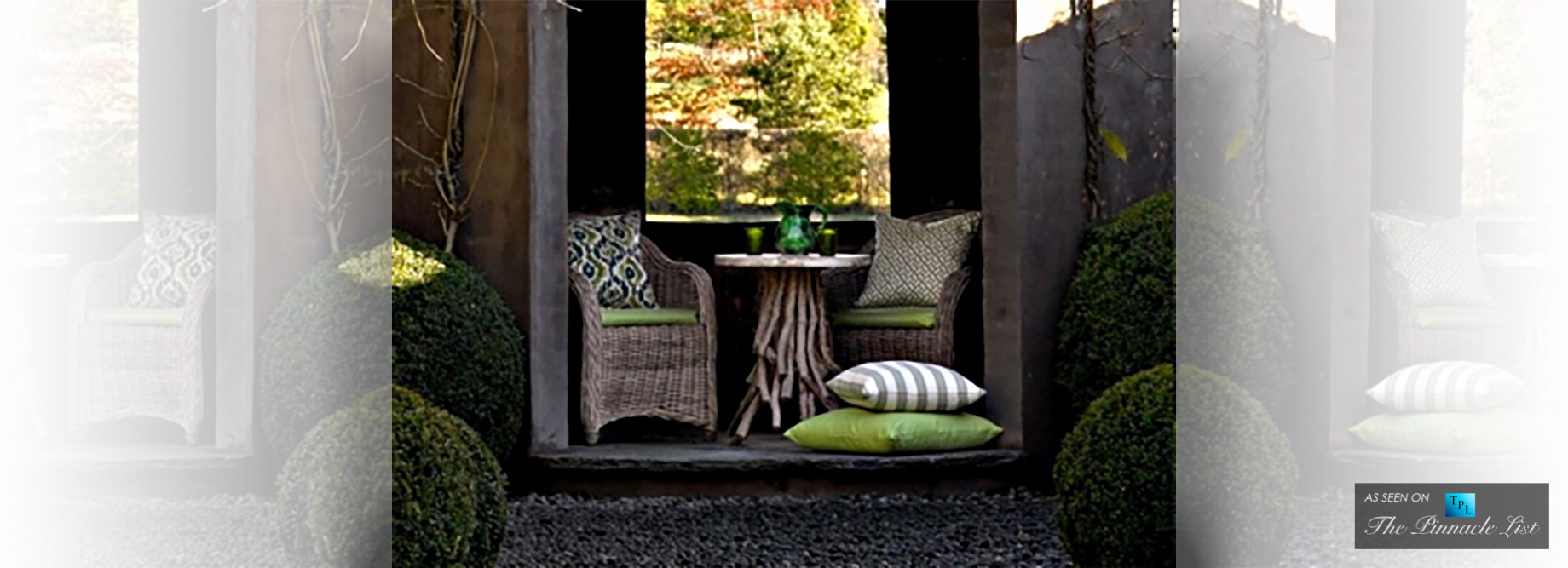 Comfort - Outdoor Luxury Living with Furniture for Australian Winter Entertaining