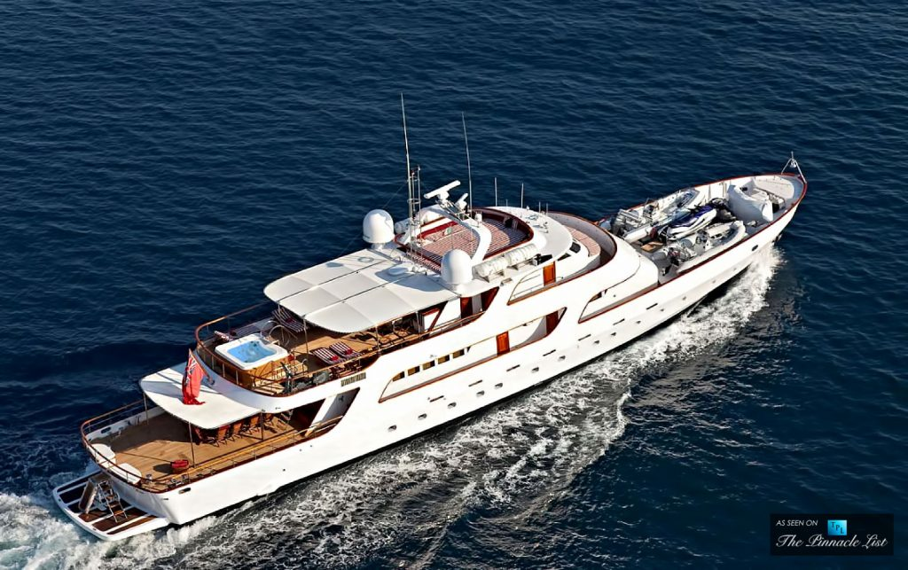 Sarita Si - Four Classic Superyachts Offering Timeless Elegance and Modern Comfort